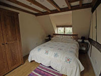 Double Bedroom at New Forest Cottage