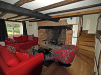 Family Lounge at New Forest Cottage